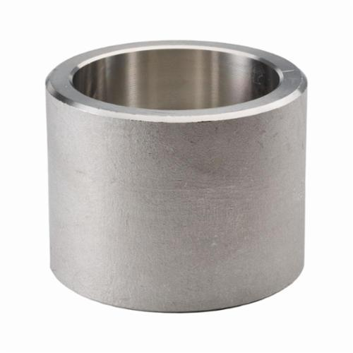 Merit Brass SW3611D-08 Pipe Coupling, 1/2 in, Socket Weld, 3000 lb, 316/316L Stainless Steel, Import - Stainless Steel Pipe Fittings